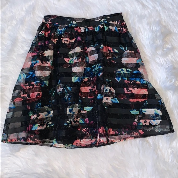 Xhilaration Dresses & Skirts - Floral skirt
